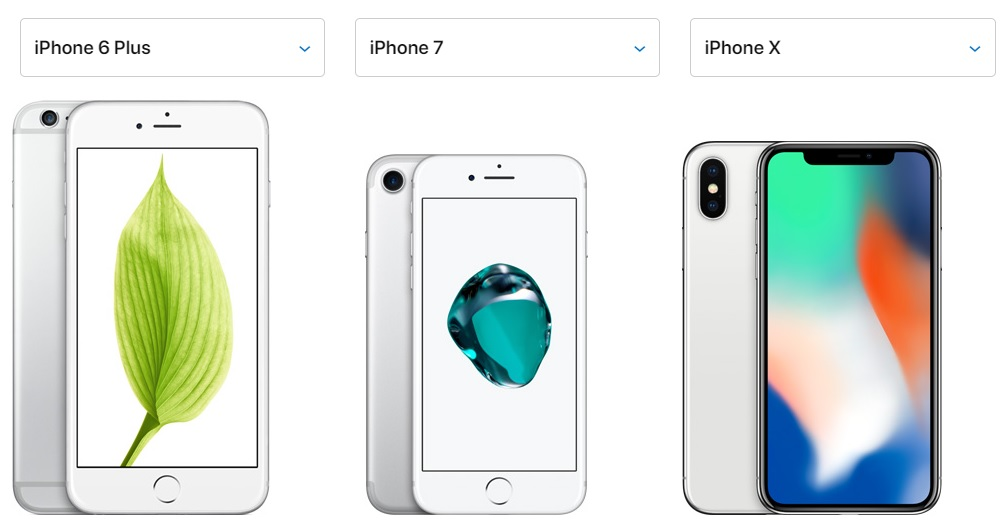 iPhone 6 Plus, iPhone 7, iPhone X Resimleri