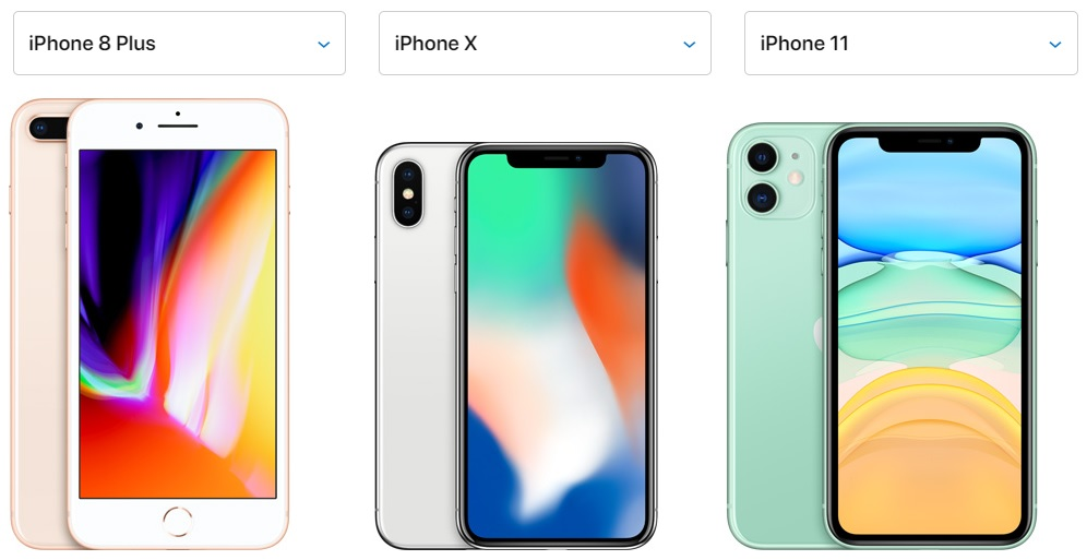 iPhone 8 Plus, iPhone X, iPhone 11 Resimleri